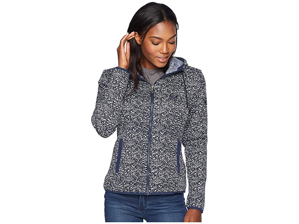 Jack Wolfskin Belleville Jacket (Midnight Blue All Over 2) Women