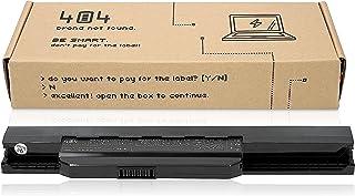 Wessper 404Brand Batería del Ordenador portátil A32-K53 A41-K53 para ASUS K53 K53E K53S K53SJ K53SV K53U X53 X53S X53SV X53U X54 X54C X54F X54H X54L Ordenador (6 Celdas 4400mAh 10.8V)