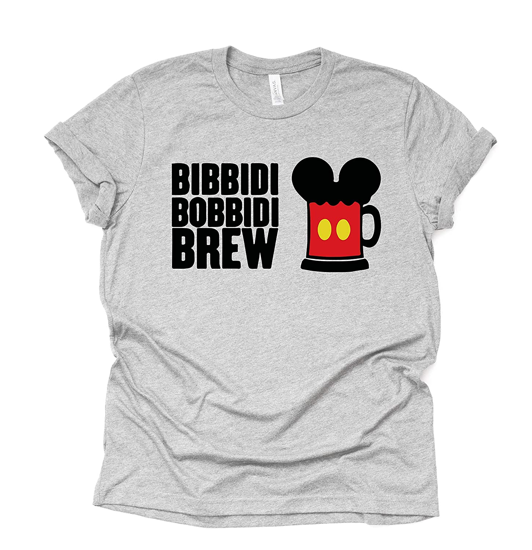 Bibbidi Bobbidi Brew womens High quality new mens shirt Pl Beer Popular popular and Misses Unisex