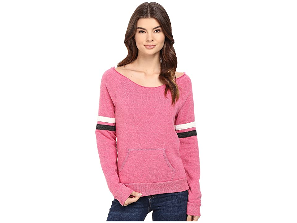 Alternative Sporty Maniac Sweatshirt (Eco Summer Berry/Eco Ivory/Eco Black) Women