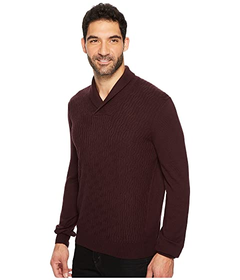 Pullover Shawl Sweater Perry Cable Ellis 1Hqf6wA0PA