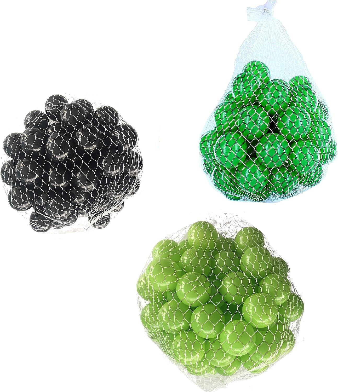 elige tu favorito Pelotas para pelotas baño baño baño variadas Mix con verde claro, verde y negro Talla 6000 Stück  punto de venta