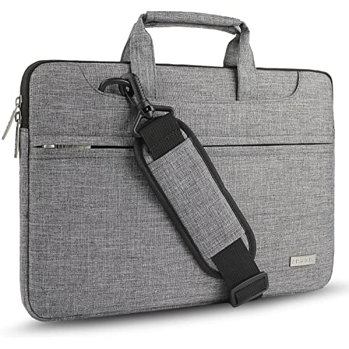 Hseok 3-Way 15-15.6 Inch Laptop Shoulder Bag Brifecase Water-Resistant Notebook