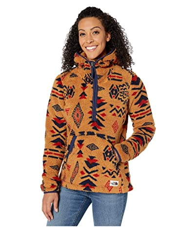 The North Face Campshire Pullover Hoodie 2.0 (Cedar Brown California Geo Print) Women