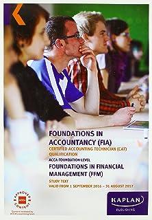 FIA FFM Foundations in Financial Management - Study Text
