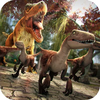 Jurassic Dinos - Free Dinosaur Simulator Racing Game