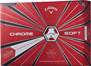 Callaway(キャロウェイ) ゴルフボール CHROME SOFT 12個入り