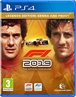 F1 2019 - Legends Edition (PS4) by Codemasters - Imported Game.