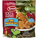 Tyson Fully Cooked Fun Nuggets with Whole Grain Breading, 29 oz. (Frozen)