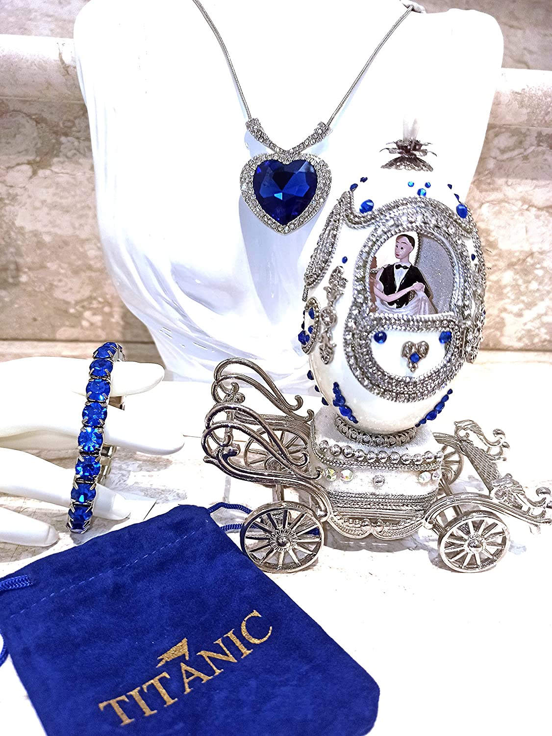 ONE Sales results No. 1 OF A KIND Faberge egg PASSION TITANIC Max 45% OFF Anniversary Wedding gi