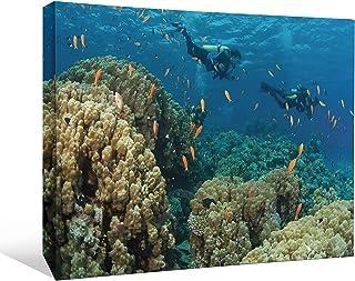 JP London SCNV2000 2 بوصة قماش ثقيل الوزن ومغطى تحت البحر بعرض 40.64 سم × ارتفاع 30.48 سم