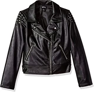 Girls' Big Descendants Studded Moto Jacket