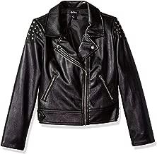 Disney D-Signed Girls' Big Descendants Studded Moto Jacket