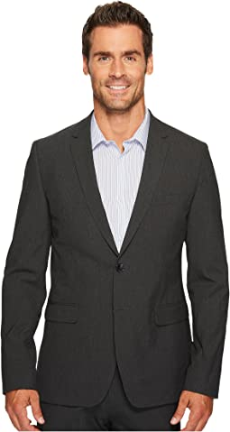 Calvin Klein Slim Fit Two-Button Notch Lapel End on End Bi-Stretch Infinite Style Jacket