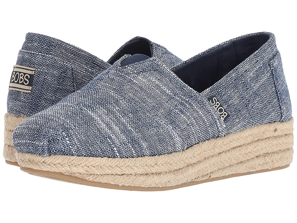 BOBS from SKECHERS Highlights Sand Sparkle (Navy) Women