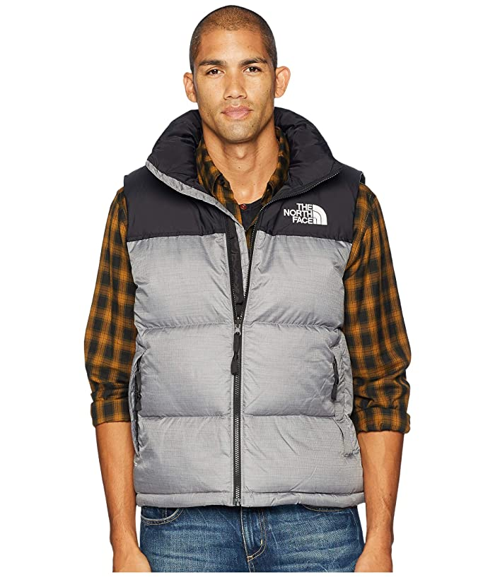 The North Face  1996 Retro Nuptse Vest (TNF Medium Grey Heather) Mens Vest