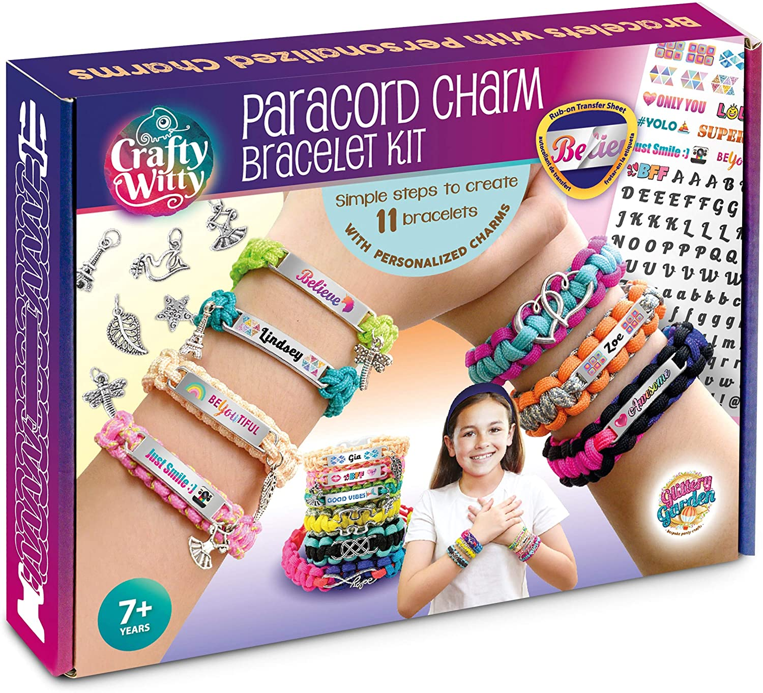 Memphis Mall Paracord Bracelet Making Kit with Charms Gift Art for Cheap mail order sales - Craft