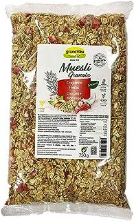 GRANOVITA Muesli Crujiente Fresas Cereales - 750g (8423266500329)