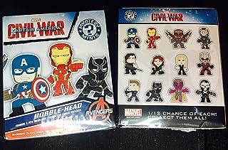 Funko Marvel Captain America Civil War Mystery Mini Toy Action Figures (2 random mystery mini packs)