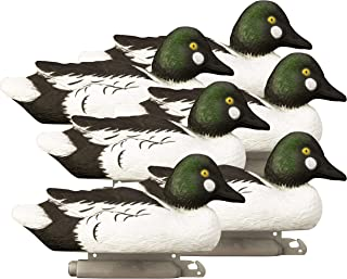 Higdon Outdoors Standard Goldeneye Duck Decoys, Foam Filled, Drakes
