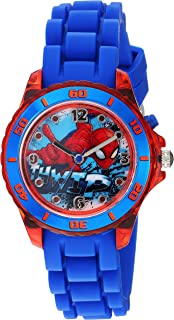 Marvel Spider-Man Kids' SPD9032 Analog Display Analog Quartz Blue Watch