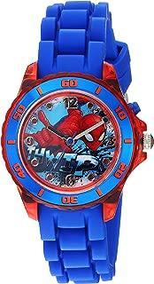 Spider-Man Kids' SPD9032 Analog Display Analog Quartz Blue Watch