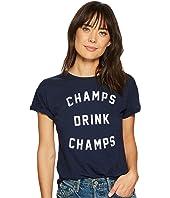 Champs Drinks Champs Short Sleeve Slub T-Shirt