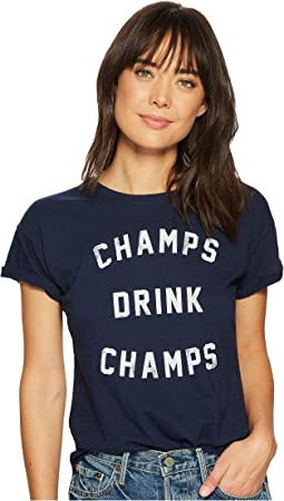 Champs Drinks Champs Short Sleeve Slub T-Shirt