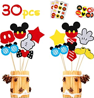 baby mickey baby shower centerpieces