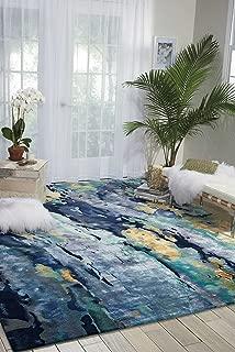 Best nourison prismatic silver blue area rug Reviews