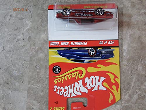 Hot Wheels Classics Series 2  Plymouth Hemi Cuda by Hot Wheels