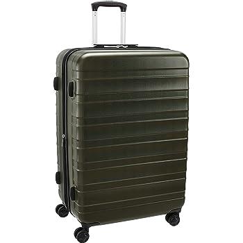Valise rigide /à double roues et serrure TSA int/égr/ée Gris 136L 82cm DELSEY PARIS MONCEY