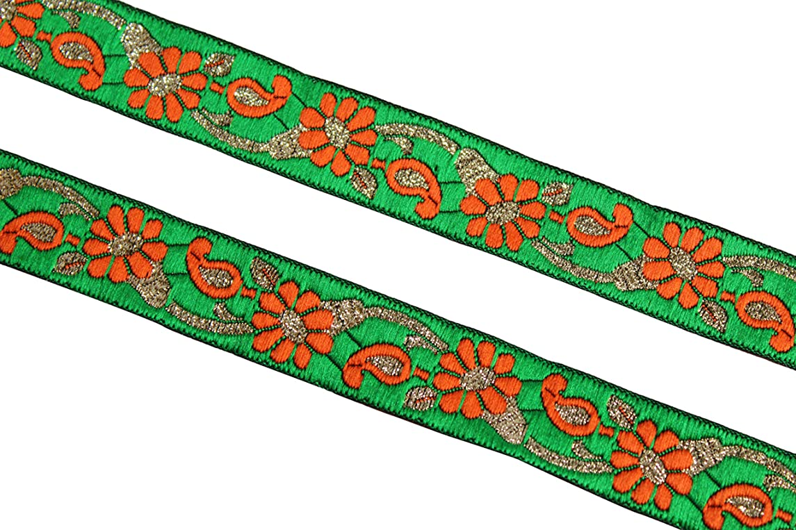 09 yards of Indian fabric trim iDukaancrafts