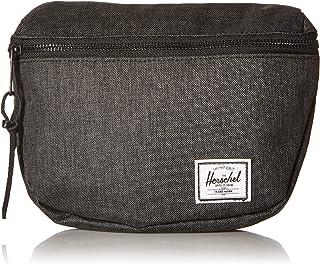 """Herschel Fashion Waist Pack, 6.5""""(H) x 7.75""""(W) x 2"""" (D), Black Crosshatch"""