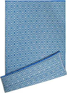 Best DII Contemporary Indoor/Outdoor Lightweight Reversible Fade Resistant Area Rug, Great For Patio, Deck, Backyard, Picnic, Beach, Camping, & BBQ, 4 x 6