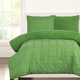 Siscovers Crayola Playful Plush Comforter Sets, Full/Queen, Jungle Green