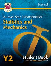 New A-Level Maths for Edexcel: Statistics & Mechanics - Year 2 Student Book (with Online Edition) (CGP A-Level Maths)