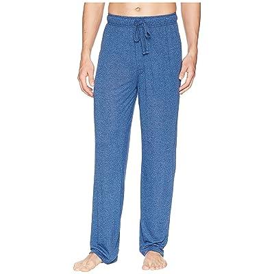 Jockey 50 Rayon/50 Poly Knit Sleep Pants (Blue Tranquil/Stone Blue) Men