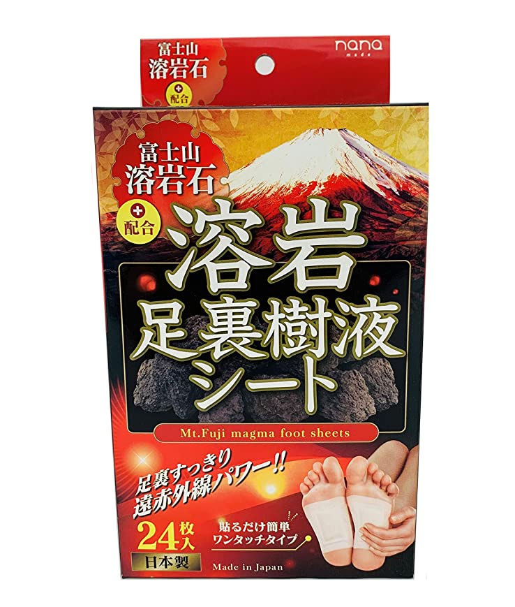 貢献するグッゲンハイム美術館データム富士山溶岩石足裏樹液シート24枚