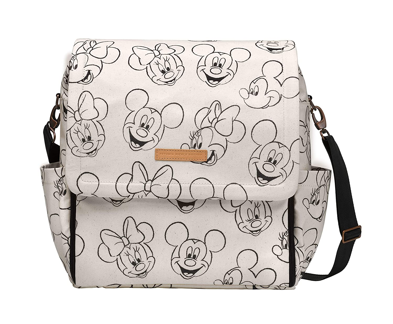 Petunia Pickle Bottom - Boxy Backpack (Sketchbook Mickey & Minnie)