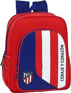 612045640 Mochila Junior niño Adaptable Carro Atlético de Madrid