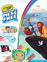 Crayola Color Wonder Lion King Coloring Book Pages & Markers, Mess Free Coloring, Gift for Kids