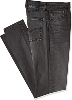 Levi's Men's Le 513 Straight Slim Fit Denim Jeans, Black (W-33,L-34) (CM 84/86)