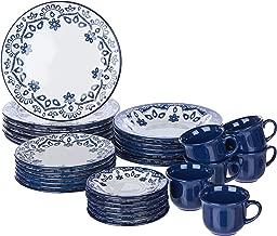 1 Aparelho de Jantar e Chá 30 Peças Oxford Daily Floreal