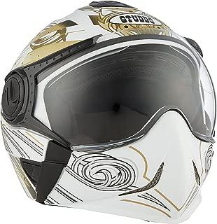 Studds Full Face Helmet Downtown D1 (White N12, XL)