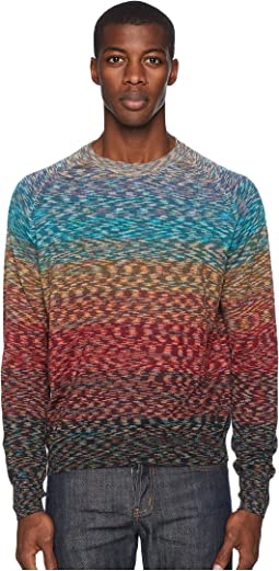 Ombre Crew Neck Sweater