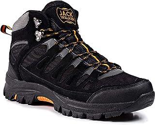 Jack Walker Scarponcini da Uomo Impermeabili Leggeri e Traspiranti Hiking Stivali JW9255