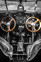 1929 Ford Trimotor Aircraft Cockpit unframed Print – Signed by Photographer