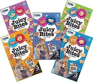 INABA Juicy Bites Moist bite-Sized cat Treats - Human-Grade, No Grains