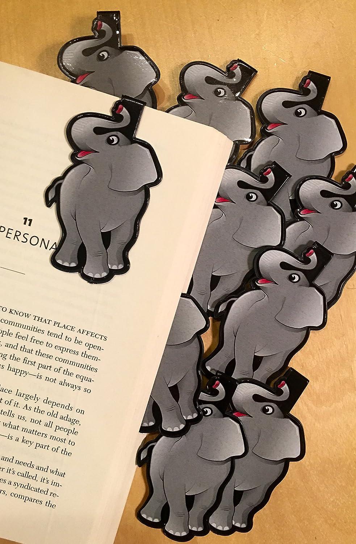 Elephant Bulk Max 55% OFF Bookmarks for Kids Girls of - Set Opening large release sale 10 Animal Boys